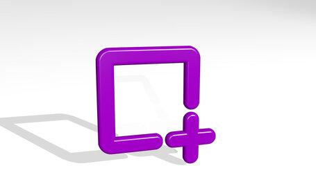 shape square add