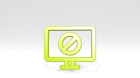 tv flat screen disable