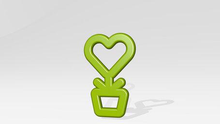 love plant pot