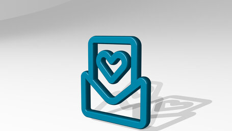 email action heart