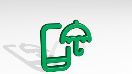 weather app rain umbrella