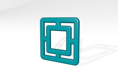 composition focus square