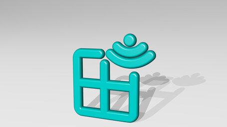 smart house window