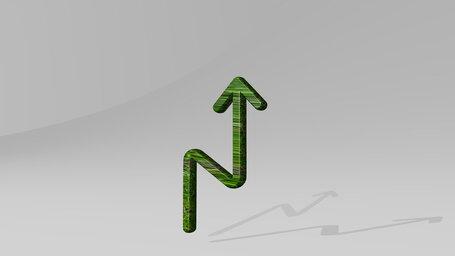 button zigzag