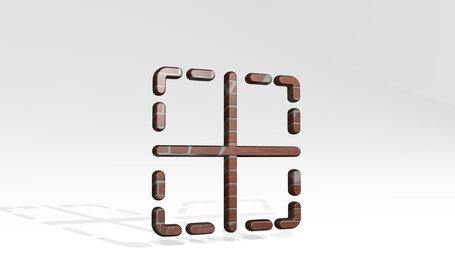 cell border horizontal vertical