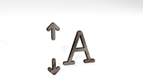 font expand vertical