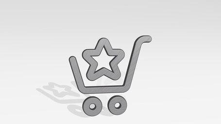 shopping cart star