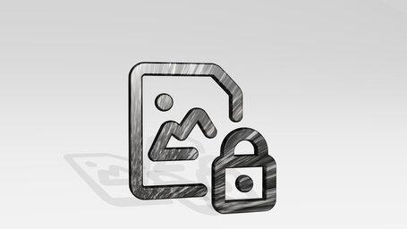 image file lock