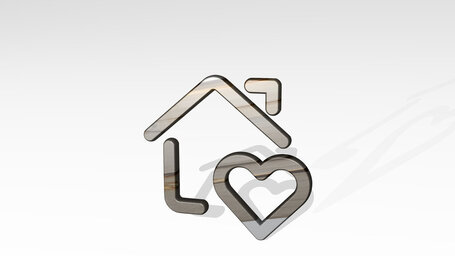 real estate action house heart
