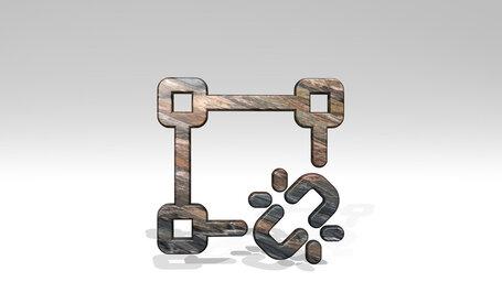 vectors square link broken