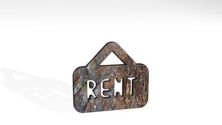 real estate sign board rent