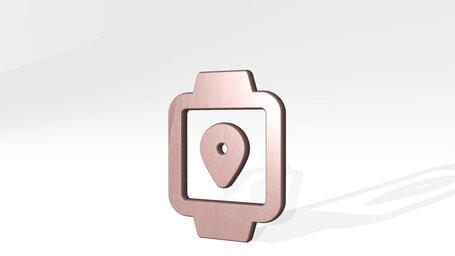 smart watch square location alternate