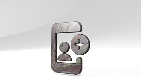 social profile smartphone add