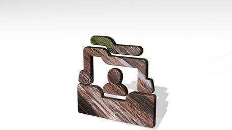 single neutral folder box