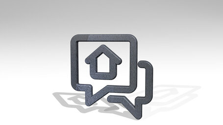real estate message chat house