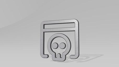 app window skull