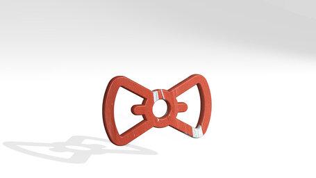 accessories ribbon tie
