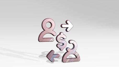 business deal cash exchange