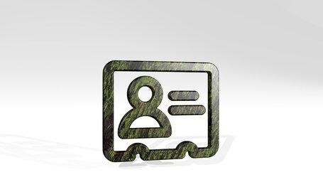 single neutral id card