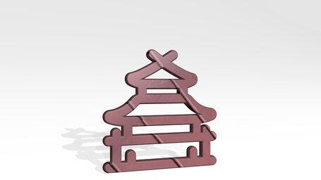 landmark chinese pagoda