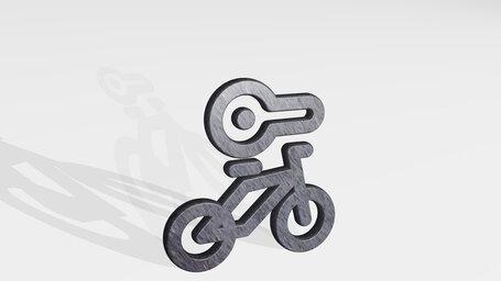 bicycle lock key