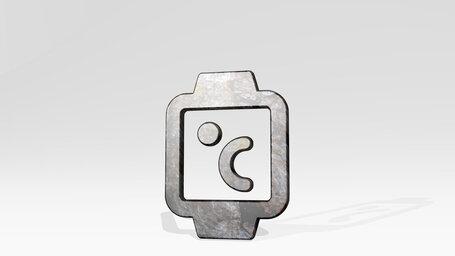 smart watch square temperature alternate