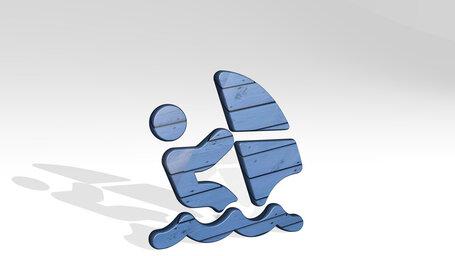 nautic sports sailing person