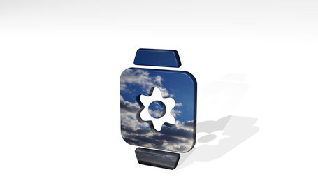 smart watch square settings