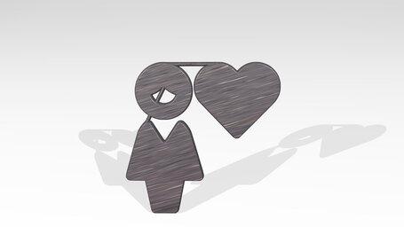 single woman heart