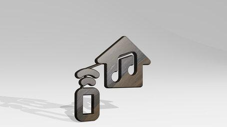 smart house music