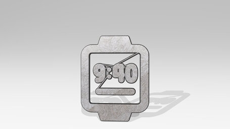 smart watch square time alternate