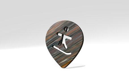 style three pin snowboard