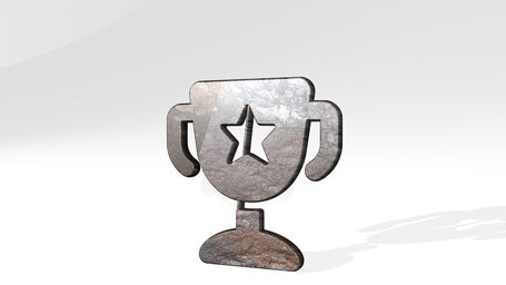 award trophy star