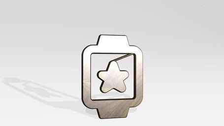 smart watch square star alternate