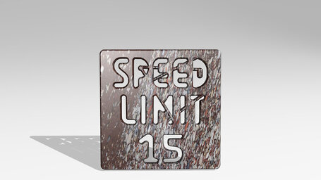 road sign speed limit