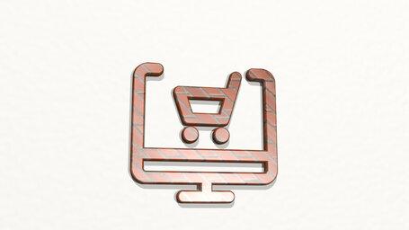 monitor shopping cart