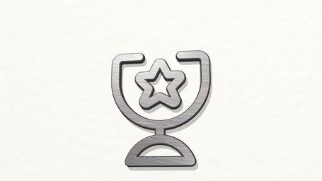 award trophy star