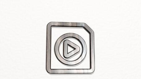video file play circle