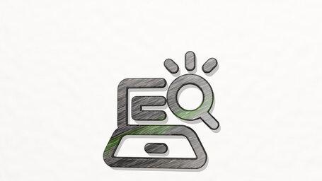 seo search laptop