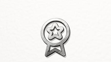 award ribbon star