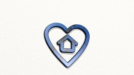 real estate favorite heart house