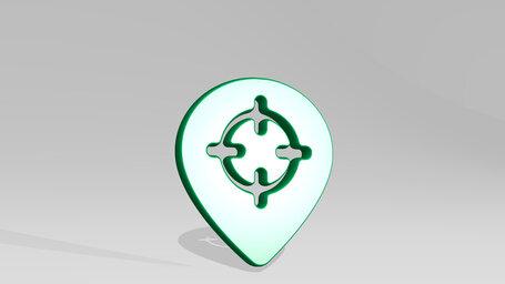 style three pin target