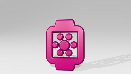 smart watch square brightness alternate