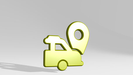 navigation car pin