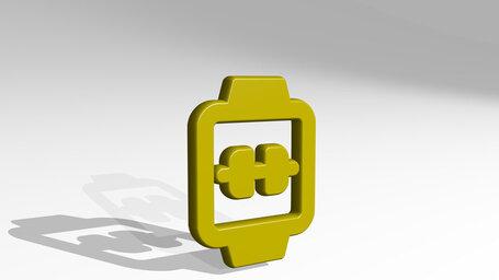 smart watch square dumbbell alternate