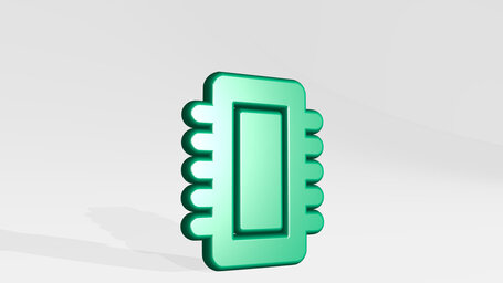 computer chip core