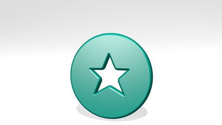 rating star circle