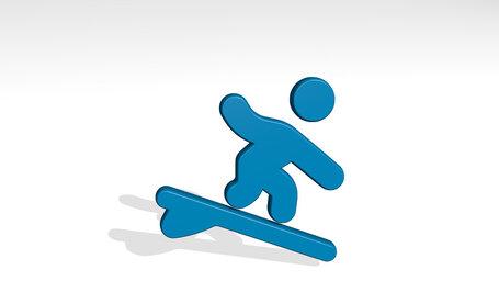 nautic sports surfing water