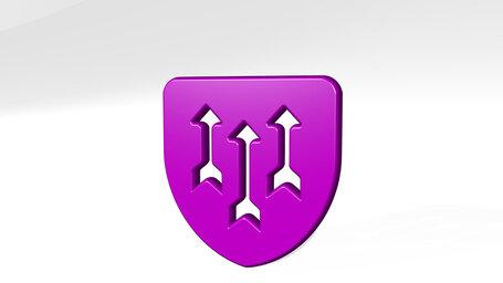 army arrow shield