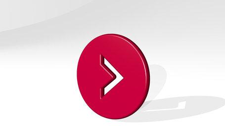 arrow button circle right